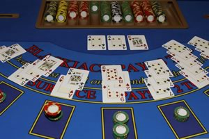 Blackjack table in Nigeria Casinos