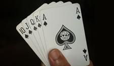 Poker at Casino